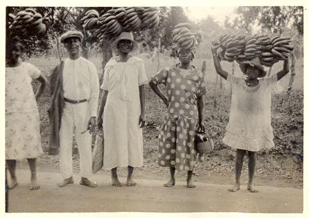 Banana Carriers, Jamaica 1927
