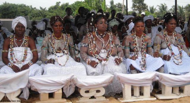 Ghanian Wedding Celebration