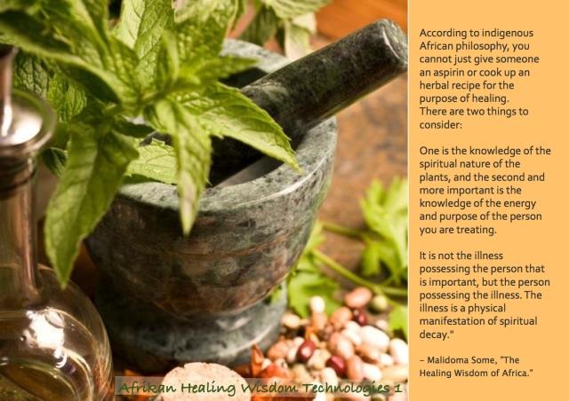 African philosophy on illness